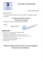 Convocation CM 13-02-21