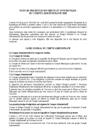 synthèse compte administratif