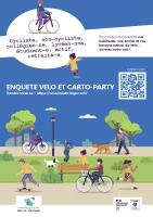 Affiche CCHB – enquêre vélo